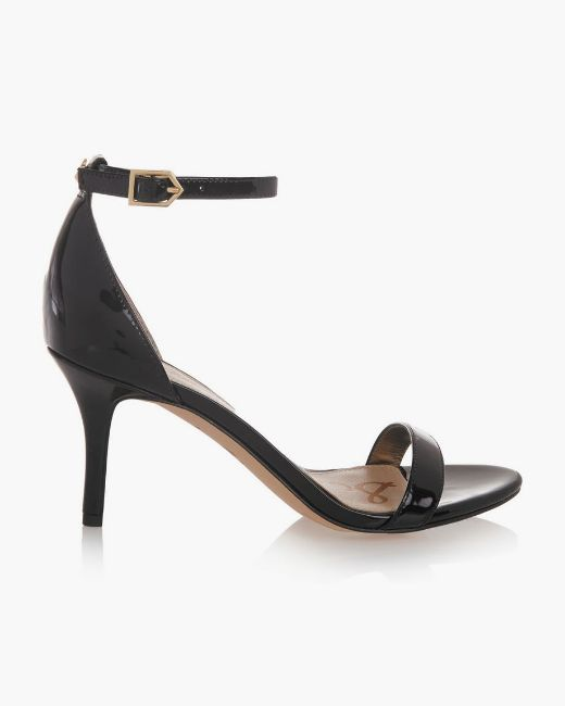 Picture of Suede and Mesh Heels