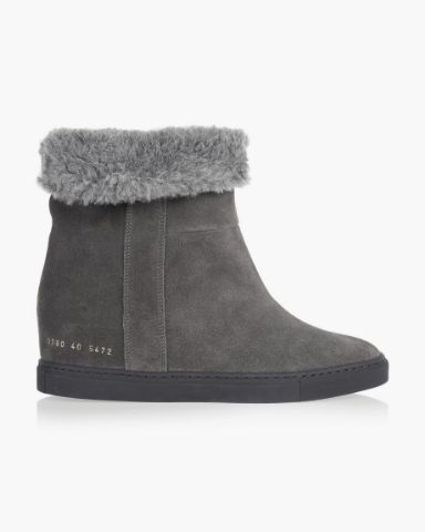 Picture of Suede Knee Boots