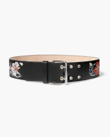 Picture of Fringed Leather Belt