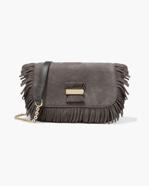 Picture of Textured-leather Shoulder Bag